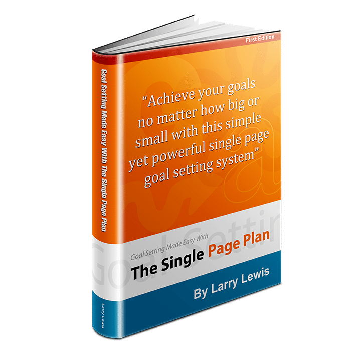 Single Page Plan Book (Paperback Version) - Product Image